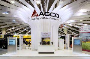 allestimento stand per AGCO