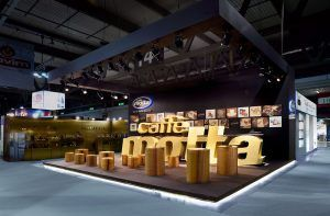 allestimento OPR per Caffè Motta