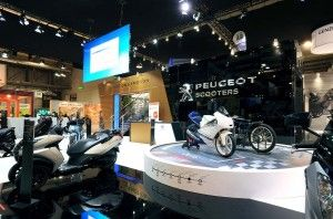 Peugeot Scooters, EICMA 2015, Milano - OPR