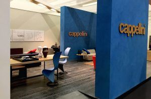stand personalizzato per CAPPELLINI