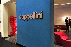 stand espositivo OPR per CAPPELLINI