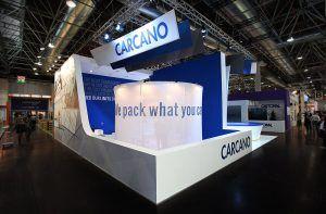 stand espositivo CARCANO