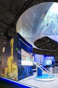 stand fieristico OPR per General Electric