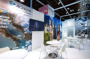stand espositivo OPR per Air Dolomiti