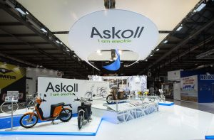 stand personalizzato per Askoll