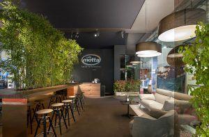 spazio fieristico OPR per Caffè Motta