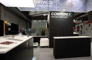 stand fieristico OPR per Contrinex
